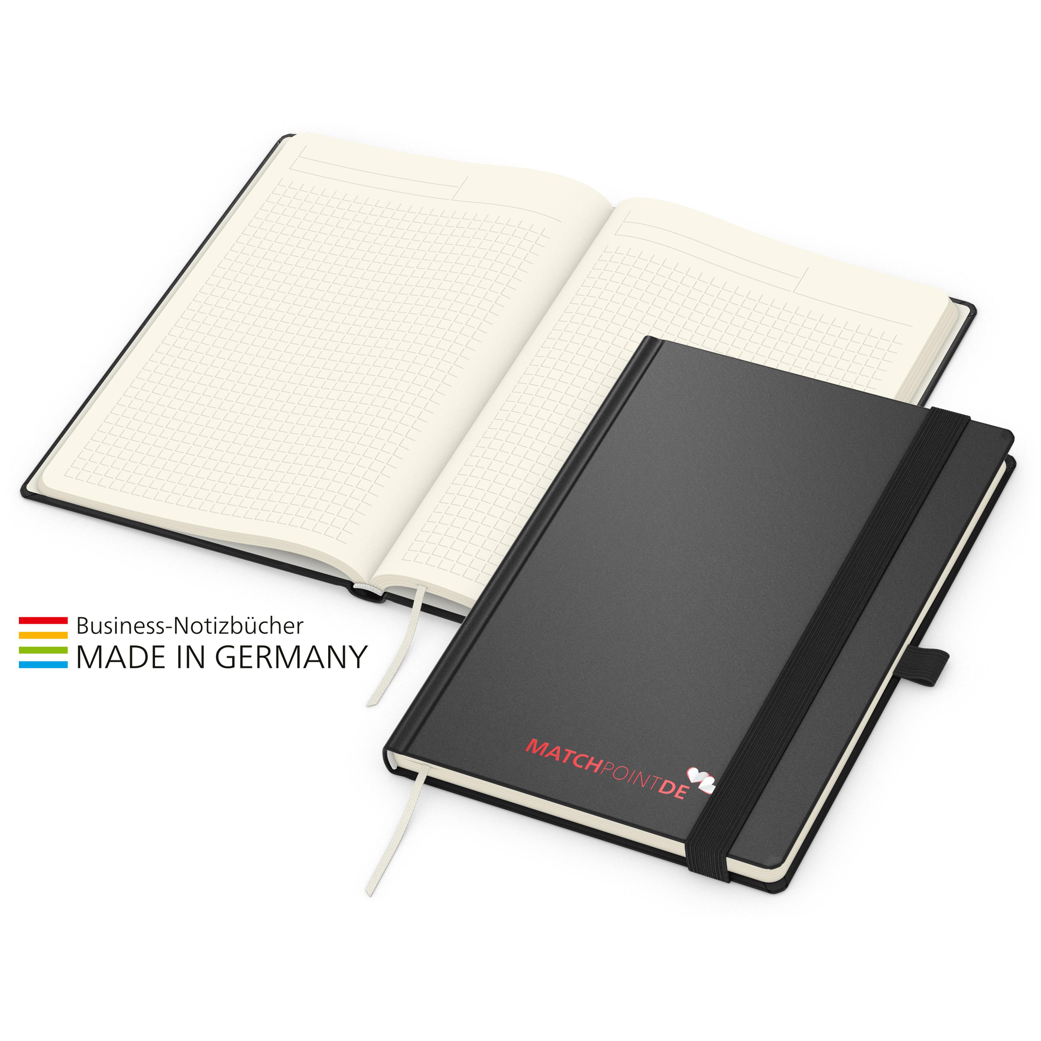 Vision-Book Creme A5 x.press schwarz