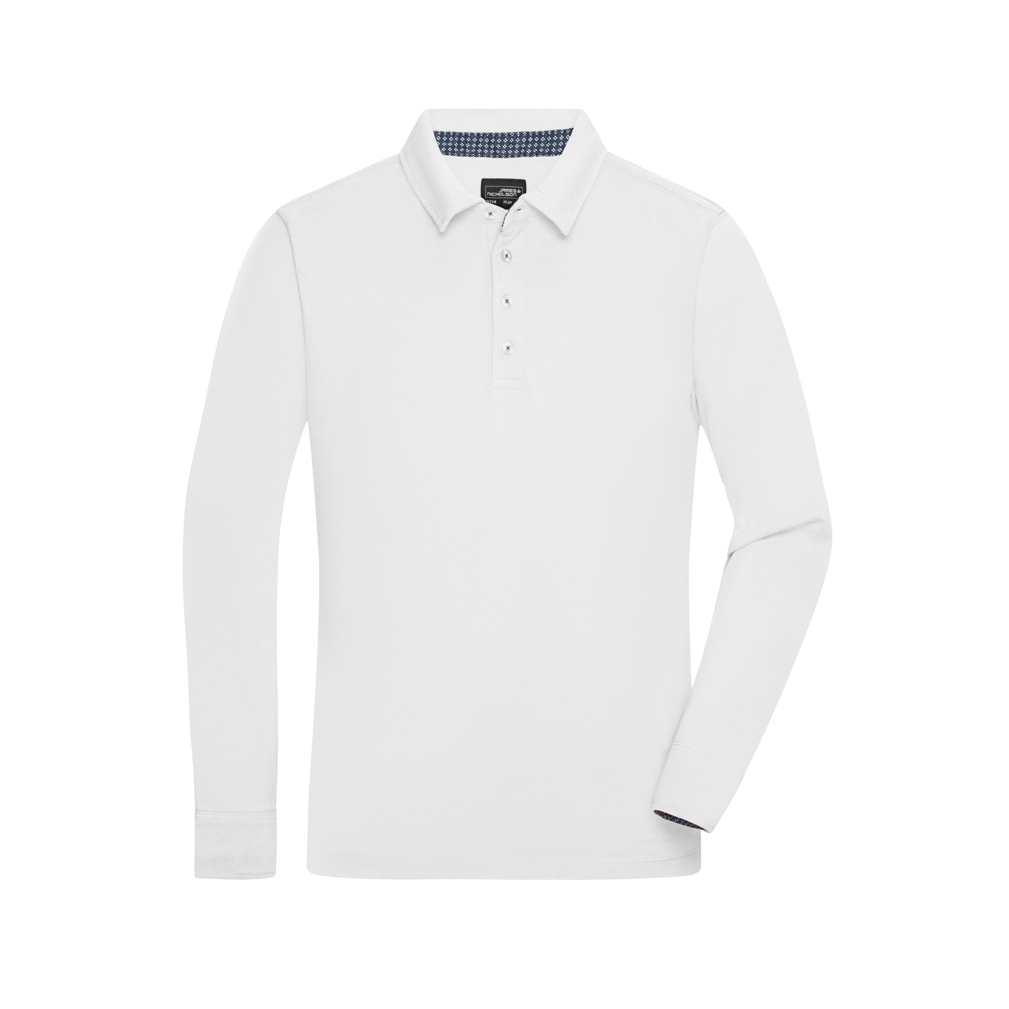 Men´s Polo Long-Sleeved