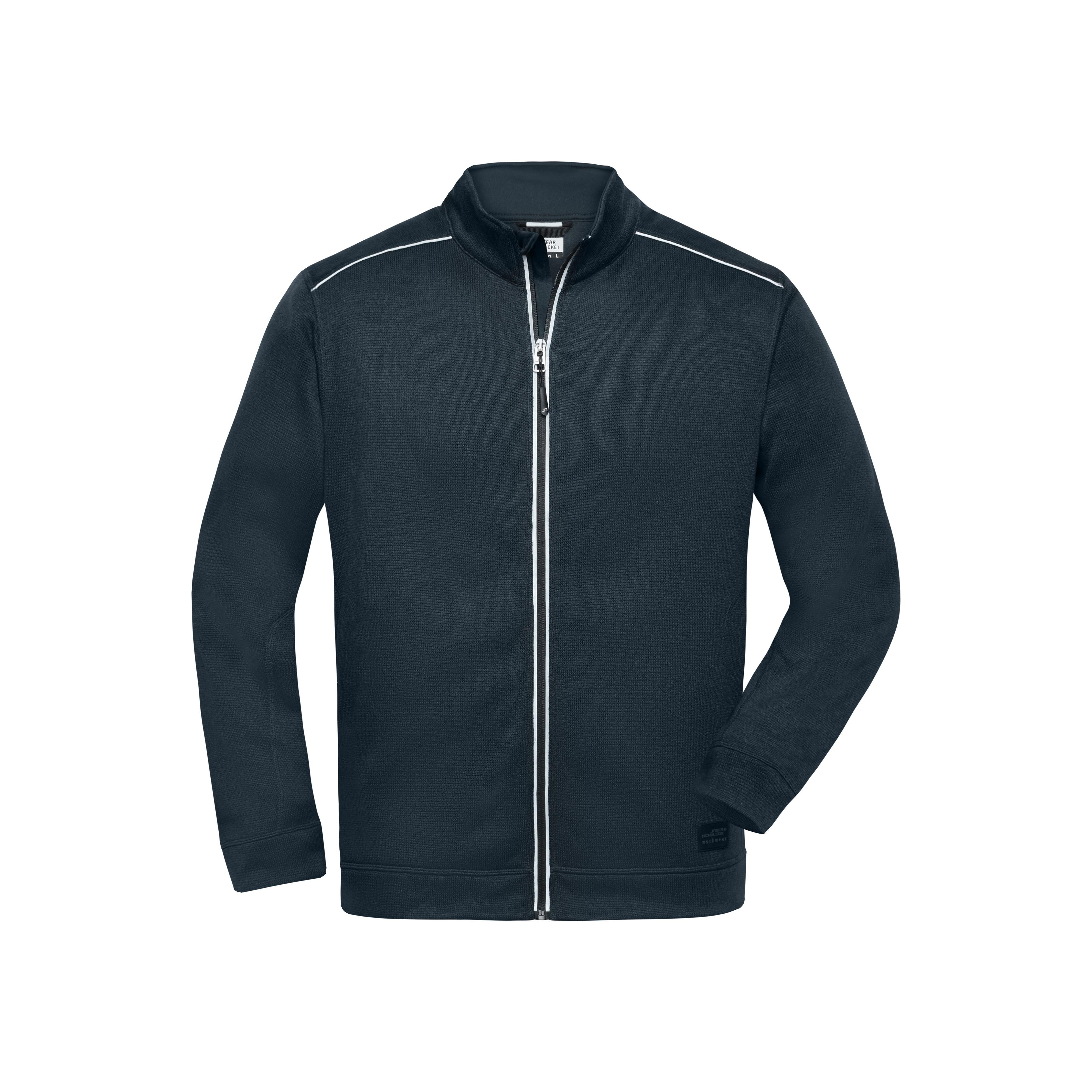 Men´s Knitted Workwear Fleece Jacket - SOLID -